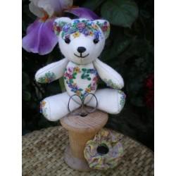 l'ourson fleuri