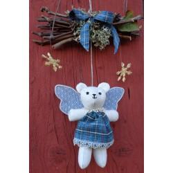 l'ours ange bleu
