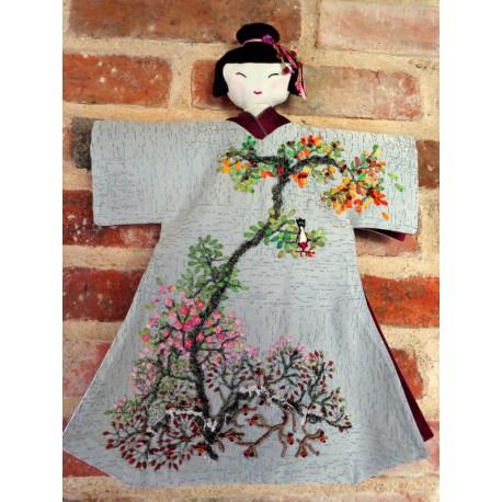 Le kimono de la brodeuse